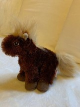 Ganz Lil Kinz Brown Plush Horse Stuffed Animal Toy Used Nice Condition - $14.03