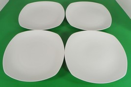 Roscher Bone China KELSEY White Square Salad Plate (s) LOT OF 4 - $27.67