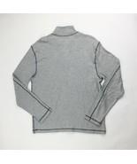 Vintage 1946 Partial Zip Fleece Knit Sweater Pullover Men's XL Gray - $37.62