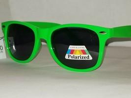 Cool Classic Bright Neon Green Premium Glare Blocking Polarized Sunglasses UV400 - $6.80