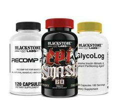 Blackstone Labs EpiShape Stack - EpiSmash ReCompRX GlycoLog - NEW Authentic - $122.47