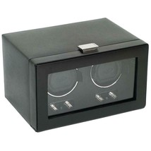 WOLF Heritage Double Watch Winder with Cover Dual Motor 270102 Free US Shipping - $459.00