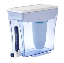 ZeroWater Pitcher 20 Cup Ready Pour Dispenser Water Quality Meter, BPA-F... - $47.41