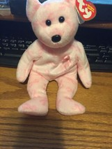 Ty Beanie Baby *Support* Breast Cancer Bear  - $14.01