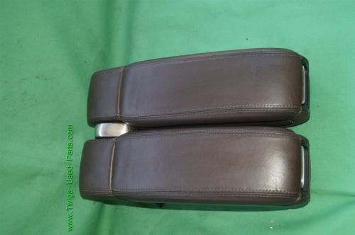 00-03 Audi A8 A8L Armrest Arm Rest Compartment Center Split Console Assembly