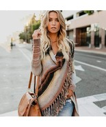 Irregular Vintage Fringe Sweater - $44.95