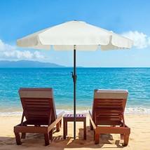 TAGI 7.5 Feet Patio Umbrella, Aluminum Pole Fiberglass Rib Outdoor Umbre... - $50.11