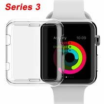 Compatible for Apple Watch Series 3 42mm Case, iMieet iWatch TPU Screen... - $14.80