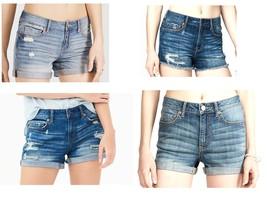 Aeropostale Women's Denim Shorts Jean Short Trendy Styles NEW