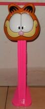 "Vintage Giant Talking 12"" Garfield Pink PEZ Dispenser - $41.97"