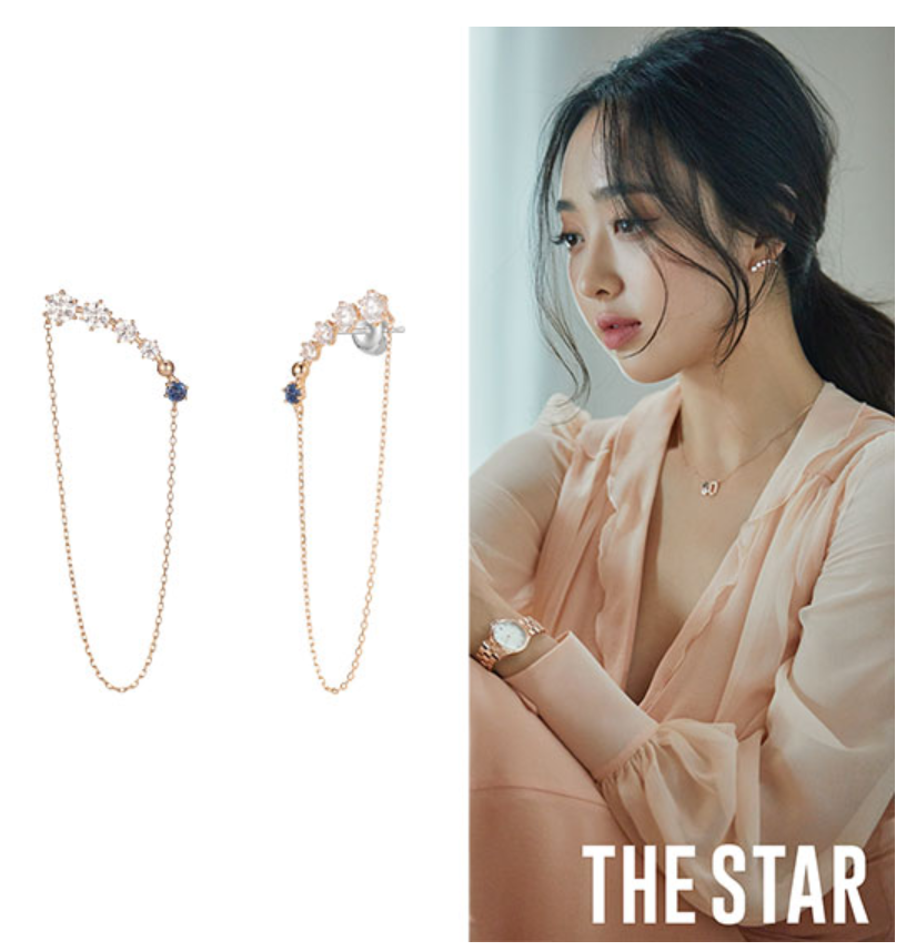 J.ESTINA jestina Spesta Earring Jewelry Gift KOREA Drama Kim MinJung