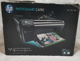 HP PHOTOSMART C4780 WIRELESS WIFI ALL-IN-ONE INKJET HOME OFFICE PRINTER ... - $94.04