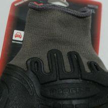 MADGRIP 495725 Thunderdome Impact Gloves Black Grey Rubber XL image 4
