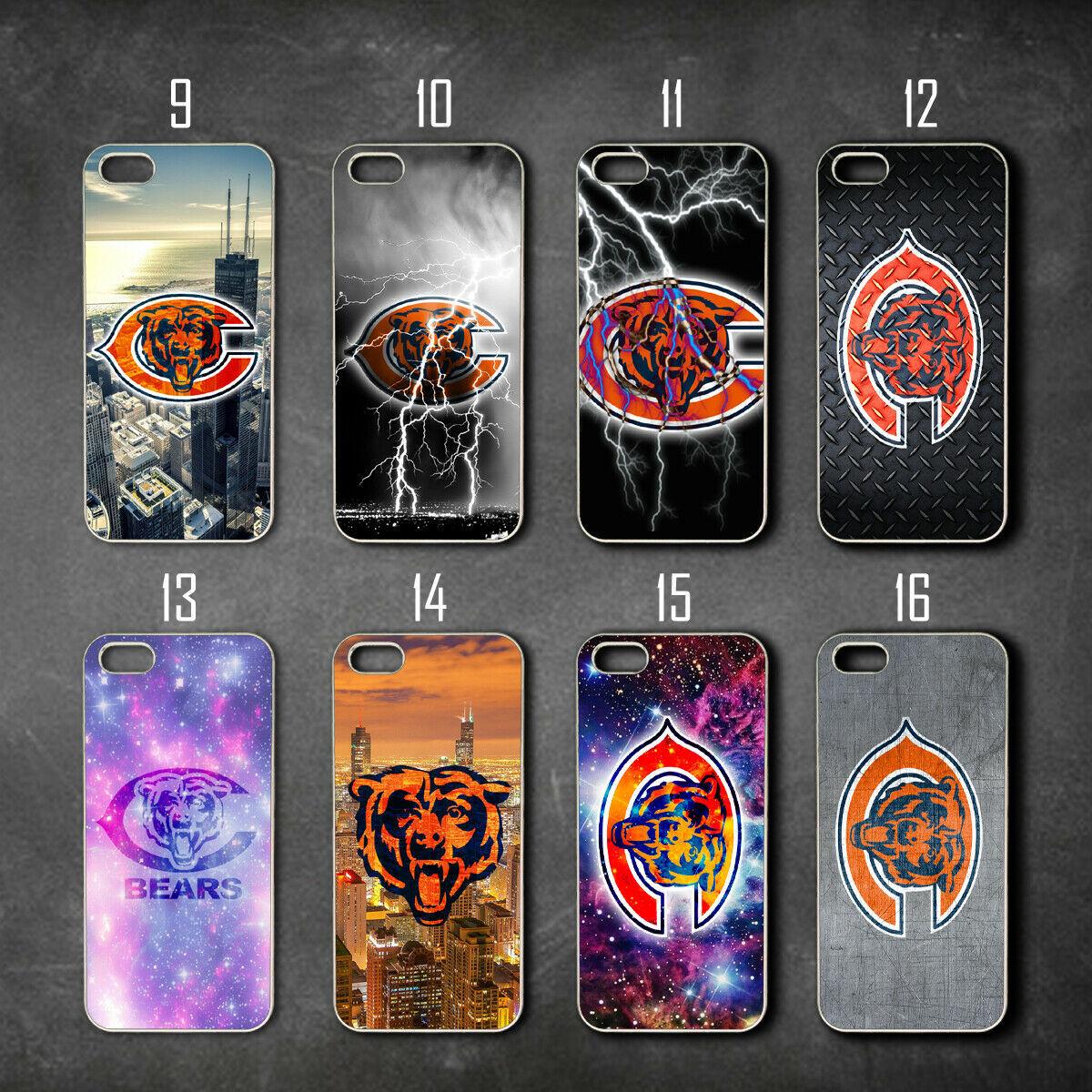 Chicago Bears Galaxy s10 S10e S10 plus s9 s7 s7 edge s8 s8 plus case