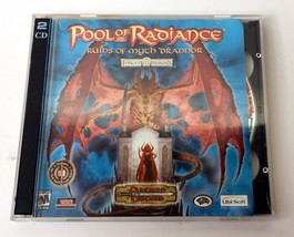 Pool Of Radiance Ruins Of Myth Drannor D&D PC Game 2 Disc CD Rom 2001 - $19.99
