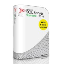 Liquidation: Sql Serveur 2016 Standard SP1 With 8 Core Licence, Illimités - $686.78