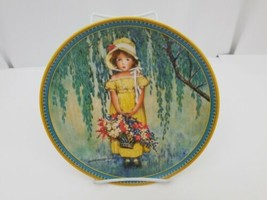Edwin M Knowles Easter Collector Plate 4578E Limited Ed 1986 Fine China ... - €7,81 EUR