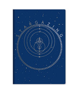Stargazing Pocket NoteBook with Art Images To Chart The Universe NEW UNUSED - $6.85