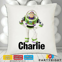 Personalised Toy Story Buzz Lightyear Cushion Cover • Unique Gift • Your... - $9.95