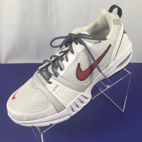 Nike Air Generate Men's Athletic Shoes Trainers White Red 344108-161 Size 10.5