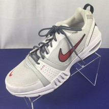 Nike Air Generate Men's Athletic Shoes Trainers White Red 344108-161 Siz... - $48.50