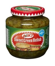 Bick's Sweet Green Relish 4 x 375ml Canadian  - $59.99