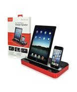 IPEGA CHARGER SPEAKER DUAL DOCK STATION Iphone 5s 5 4s 4 Ipad Ipod GALAX... - $80.77