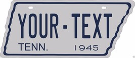 Tennessee 1945 Tag Custom Personalize Novelty Vehicle Car Auto License Plate - $19.75