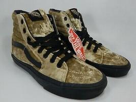 VANS Sk8 Hi Velours Sz 6 M Homme & 7.5 Femmes EU 38 Skate Shoes Or VN0A3... - $82.22