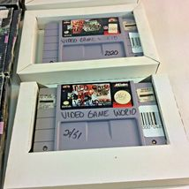 SNES Game Lot NFL Quarterback Club Monday Night Football Super Play Action Boxes image 5