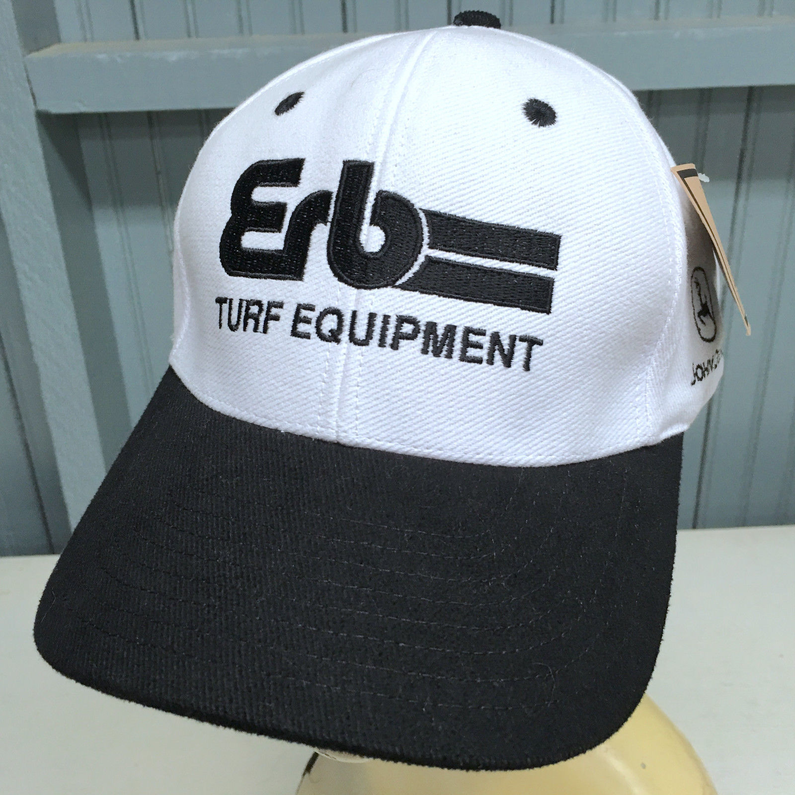 1ac76b417f1c5 John Deere ERB Turf Equipment Snapback White and 50 similar items