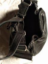 Fossil Genuine Leather Black Shoulder Purse 75082  ZB8023 VINTAGE  image 3