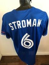 MENS XLarge MLB Baseball Jersey Toronto Blue Jays #6 Stroman Stadium Giv... - $29.69