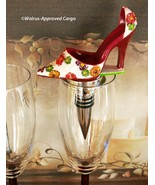 HIGH HEEL SHOE BOTTLE STOPPER – STEP RIGHT UP TO A UNIQUE WINE EXPERIENCE! - $17.95