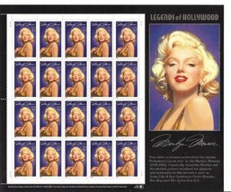 USA 1995 SC#2967 Legend of Hollywood: Marilyn Monroe, Stamps MNH VF Free... - $15.35