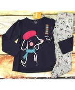 Gymboree 3T 4T Ready Jet Go Puppy Beret Oui Top Dog Print Leggings Outle... - $16.99