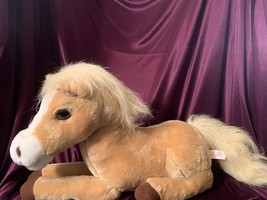 Animagic Honey Palomino Horse Plush Stuffed Sound Motion Interactive Toy... - $25.00