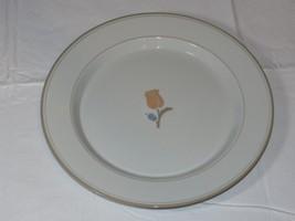 "Dansk Tivoli La Tulipe 1 Dinner Plate 10 7/8"" wide off white~ - $14.84"