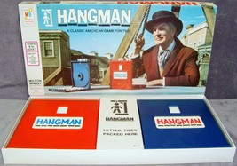 Vintage 1976 Mint in Box Milton Bradley Hangman Word Game Complete Vince... - $29.99