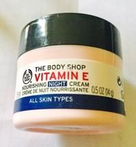 The Body Shop Vitamin E Nourishing Night Cream 0.5ml - $16.09