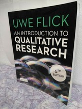 An Introduction to Qualitative Research by Flick, Uwe - $35.14