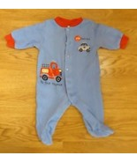 Carter Footed Pajamas Boy 3M 8-12lb. Cotton 01971866831 - $6.68