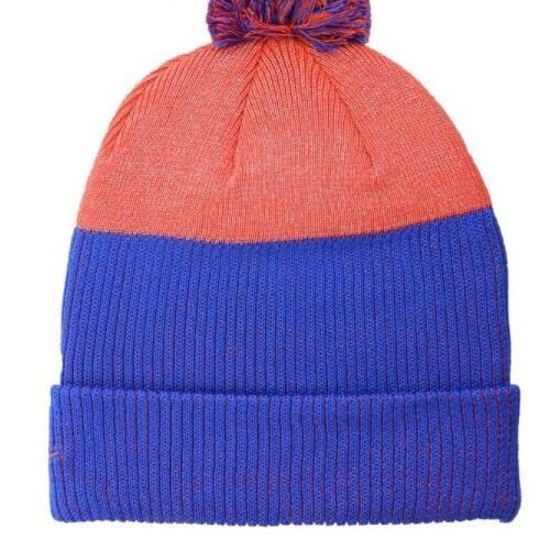 Boise State Broncos Nike NCAA Low Crown Reflective Knit Pom Beanie Hat
