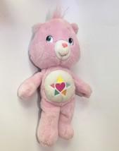 "Care Bears True Heart Bear 13"" Plush 2008 - Play Along Pink CareBear Des... - $16.82"