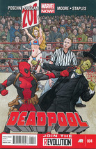 Deadpool #4 NM 2013 MARVEL COMICS - $4.45