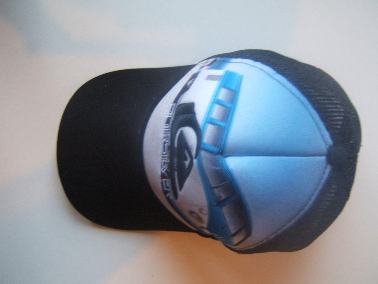 Quiksilver Retro Camper Van Bus Hat Snapback Trucker Cap