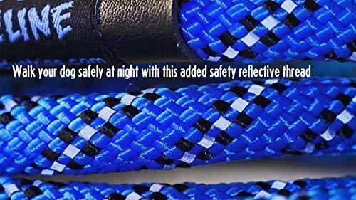 Heavy Duty and Reflective Lead Ergonomic Grip Made w/ Mountain Climbing Rope image 4