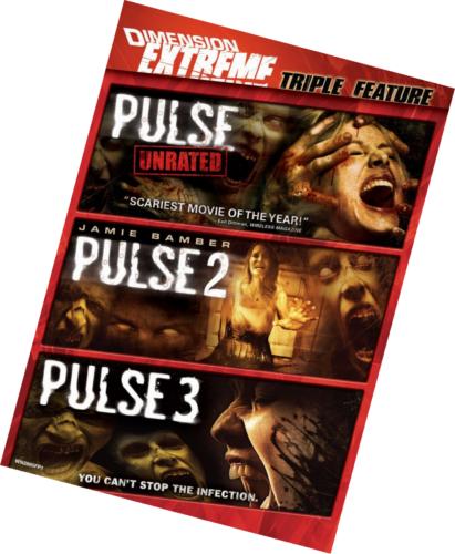 Pulse 3 Pack [DVD New] Horror Pulse 1 2 & 3