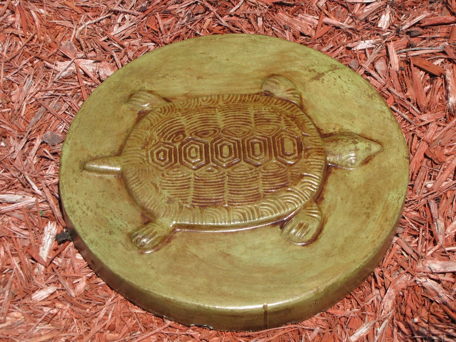 3 Turtle Design Concrete or Cement 16x2 Garden Path Stepping Stone Molds, Moulds