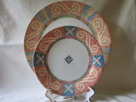 "Corelle ""Sand Art"" Dinner Plate & Salad/Dessert Plate - Discontinued in ... - $9.99"